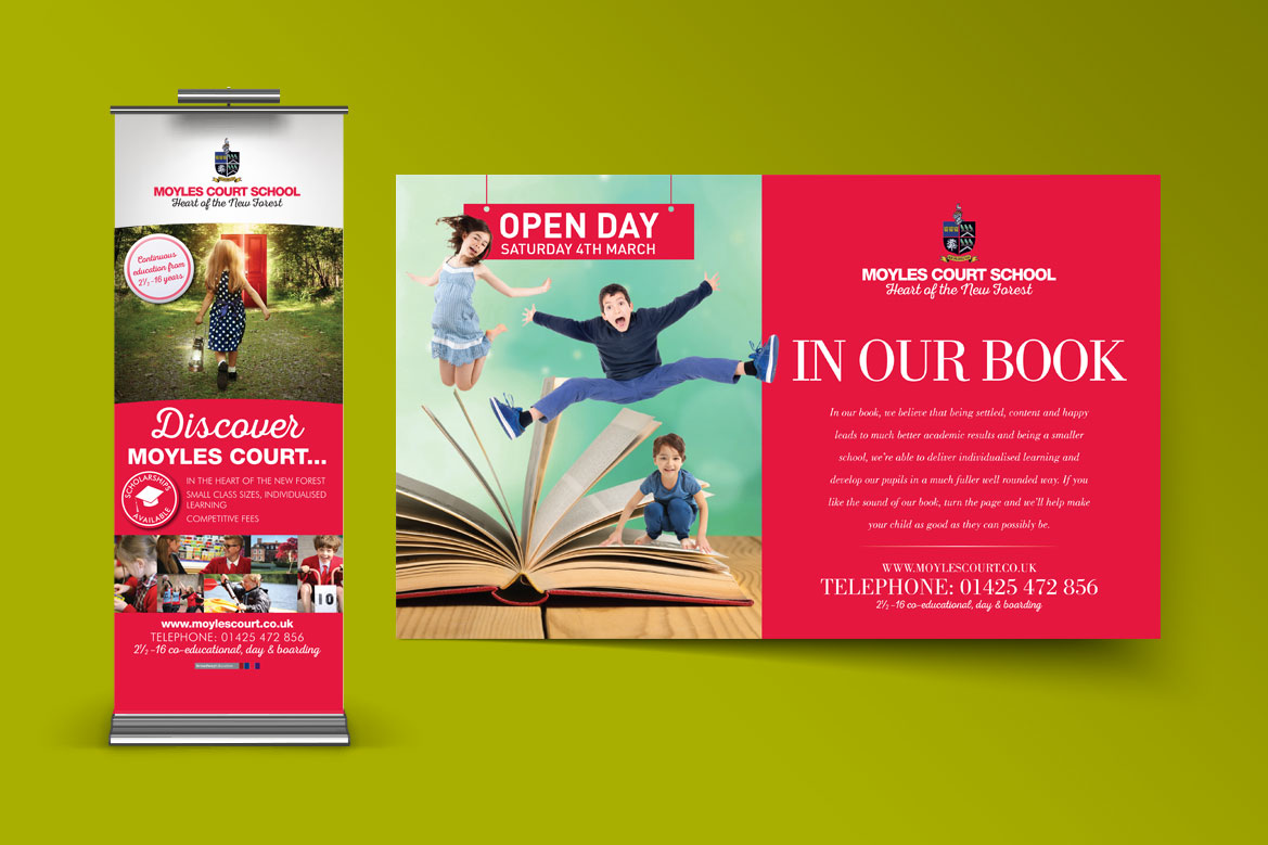 Flyer design and pull up banner design